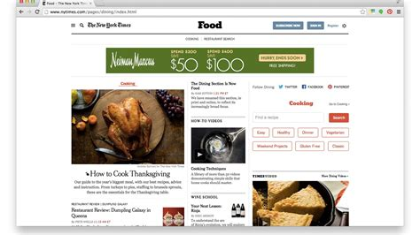 new york times food section the new york times dining section is now officially