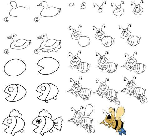 zeichnen ideen einfach zeichnen lernen mit anleitungen f 252 r kinder witzige