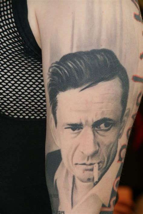 johnny cash tattoo designs johnny tattoos johnny