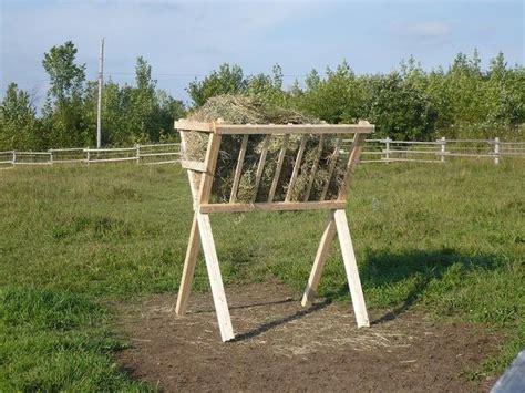 Hay Rack For Horses by Best 25 Hay Feeders Ideas On Diy Hay