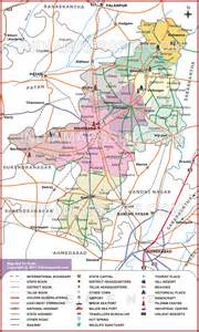 mehsana district map map of mehsana district