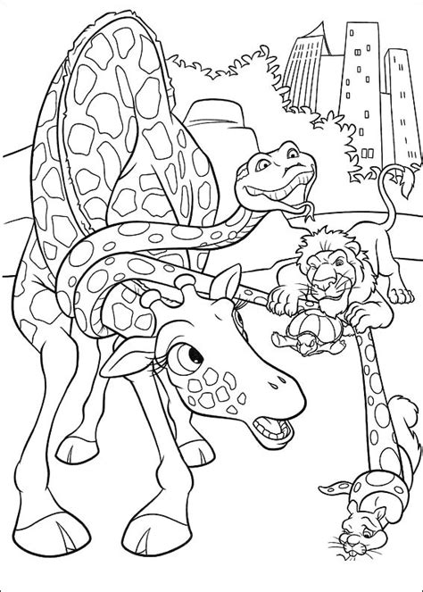 coloring page the wild coloring pages 1