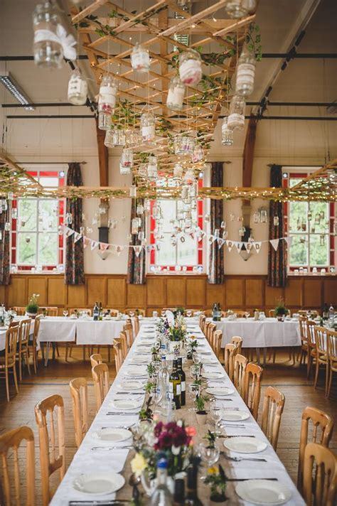 Magical Candlelit & Crafty Outdoorsy Village Hall Wedding