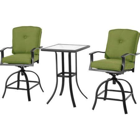 mainstays belden park 4 piece sofa set mainstays belden park 3 piece swivel high bistro set with