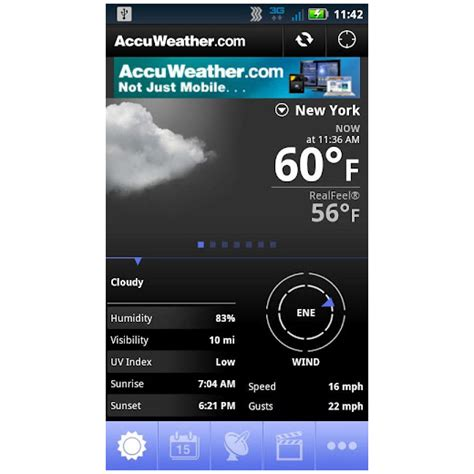 accuweather for android accuweather android