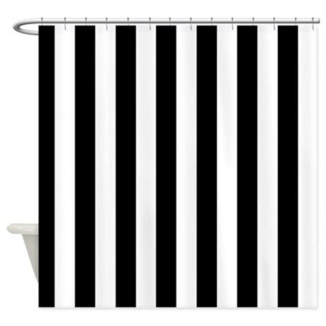 black stripe shower curtain black and white stripe shower curtain by curtainsforshowers