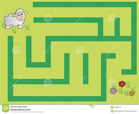 redman finding the in the maze books maze royalty free stock photos image 26605078