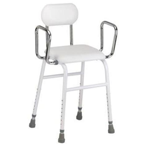 Adjustable Height Kitchen Stool With Arms by All Purpose Kitchen Stool With Adjustable Arms Hip Chair