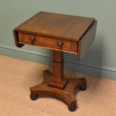 small antique mahogany side sofa table