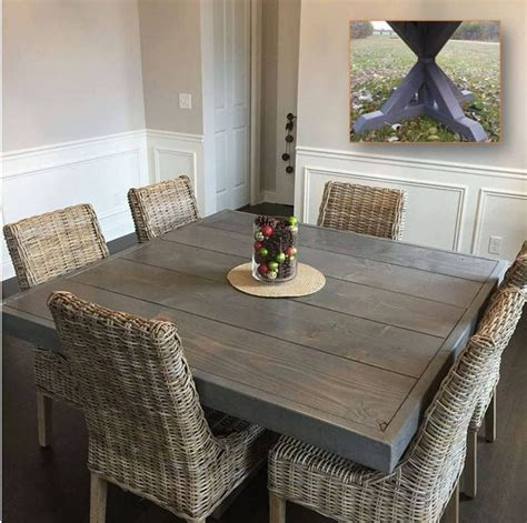 best 25 square kitchen tables ideas on square