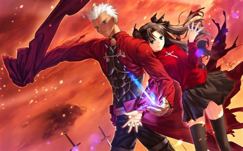 wallpaper anime fate stay night anime fate stay night wallpapers desktop phone tablet