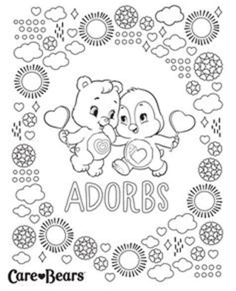 wonderheart bear coloring pages 1000 images about care bear wonderheart bear 4 on