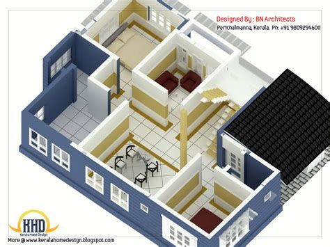 Home Design 3d Two Storey 2 Storey House Design With 3d Floor Plan 2492 Sq Feet