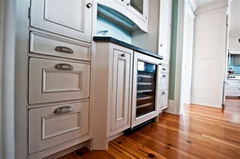 Wine Cooler For Kitchen Cabinets by Wine Cooler And Wood Mode Cabinets Traditional Kitchen