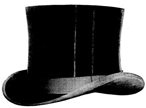 free vintage clip art awesome top hat the graphics fairy