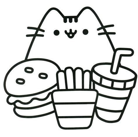 kawaii cat coloring pages pusheen coloring book pusheen pusheen the cat pusheen