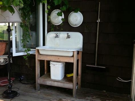 outdoor sink ideas best 20 outdoor sinks ideas on pinterest outdoor