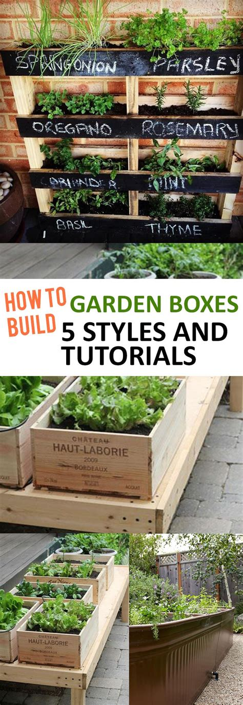 box vegetable garden 25 best ideas about box garden on raised beds