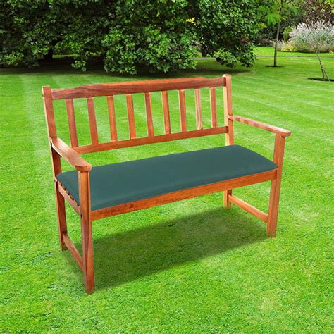 garden bench cushions 2 seater 2 seat garden bench cushion green free delivery