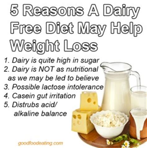 Milk Detox Diet by 5 Reasons A Dairy Free Diet May Help Your Weight Loss