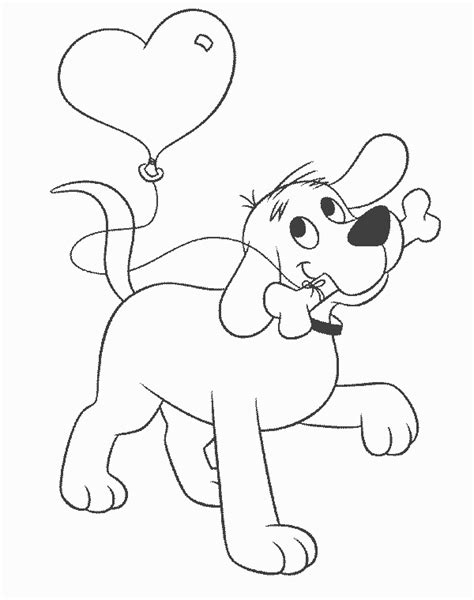 Clifford Coloring Page clifford coloring pages coloring pages to print