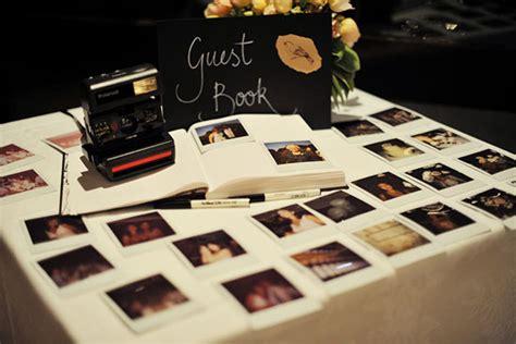 polaroid picture wedding guest book alternative wedding guest book ideas we