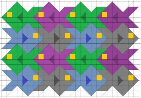 tessellation fish template easy triangle quilting patterns quilt