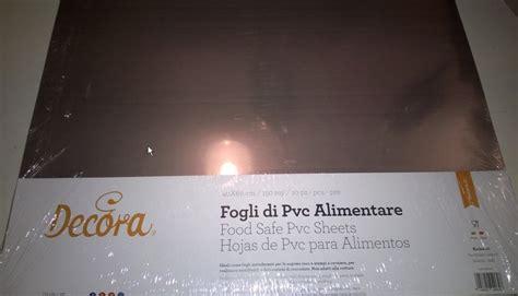 pvc alimentare decora foglio di pvc alimentare 10 pezzi 40x60 cm 150 mycron