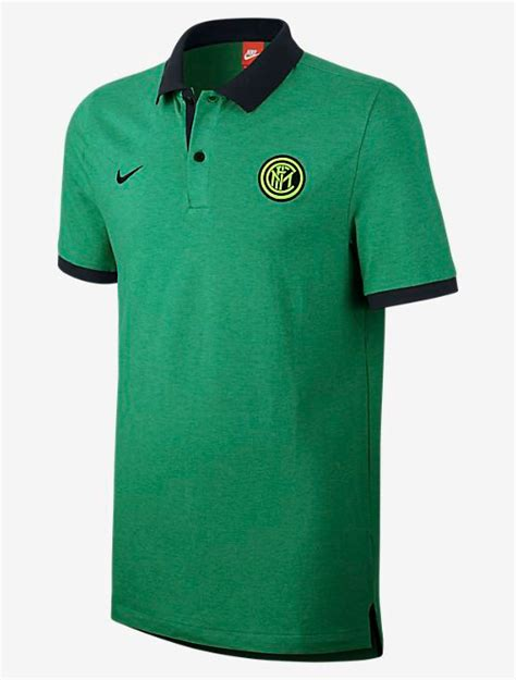 Polo Shirt Inter Milan Fc Murah authentic grand slam fc inter milan nike polo shirt shirt green 2016 17 ebay