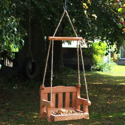 Swing Bird Feeder Swingseat Bird Feeder Wildlife World Ethical Superstore