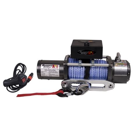 Rugged Ridge Winch Review by Rugged Ridge Performance 10 500 Lbs Road Winch 15100