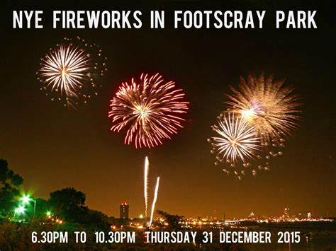 new year 2015 melbourne parade nye fireworks at footscray park 2015 melbourne