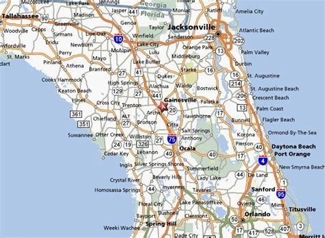 map of orlando florida and surrounding cities florida map ta orlando