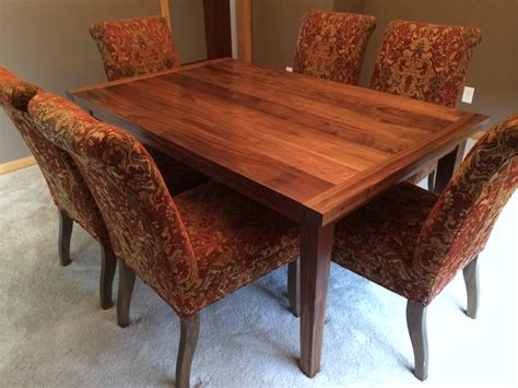 black walnut dining table black walnut dining table rugged cross woodworking