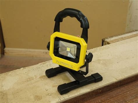 rechargeable led work light with magnetic base faithfull rechargeable led work light with magnetic base