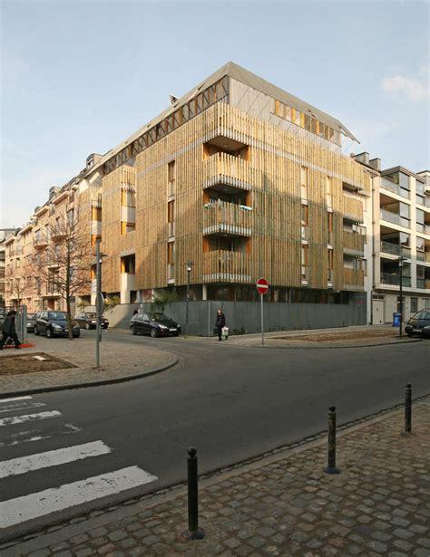 appartments in brussels social housing in brussels nicolas vanden eeckhoudt