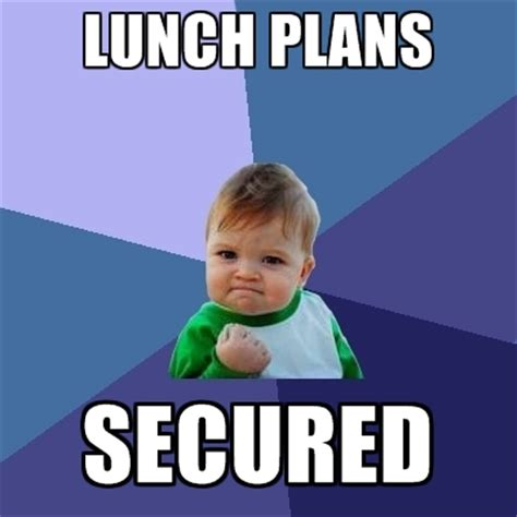 School Lunch Meme - school lunch meme