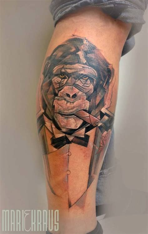 tattoo cat smoking 17 best images about monkeys on pinterest donald o