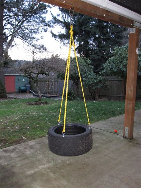 best rope for tire swing fs pdx tire rope swings made from hoosier race tires