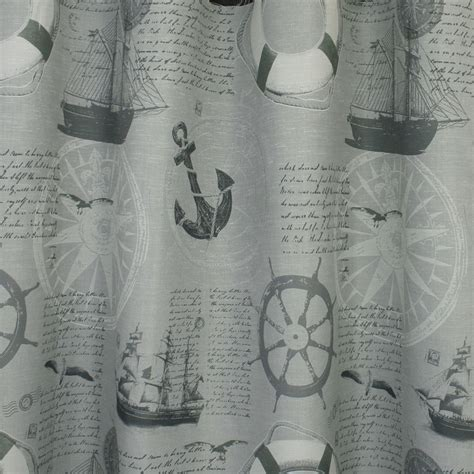 home decor fabric nautical sailboats grey fabricville