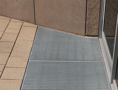 gitter für treppe sauberlaufrost mit zarge