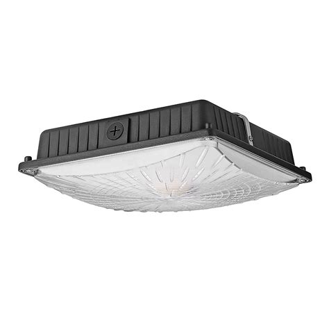 Led Canopy Light Fixtures 65w Commercial Led Canopy Lights For Gas Station 150w Mh Equiv Le 174