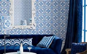 Idées déco pour votre salon marocain : le bleu à l?honneur   Huile d'argan et soins cosmétiques