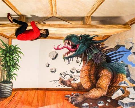 kumpulan gambar lukisan dinding  keren  dunia