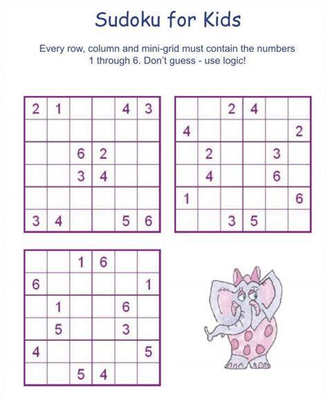 printable sudoku puzzle    documents