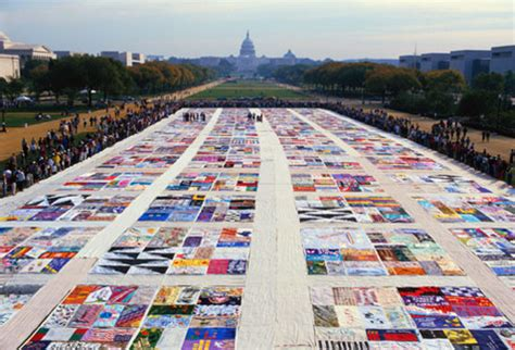 The Aids Memorial Quilt by Mediascape