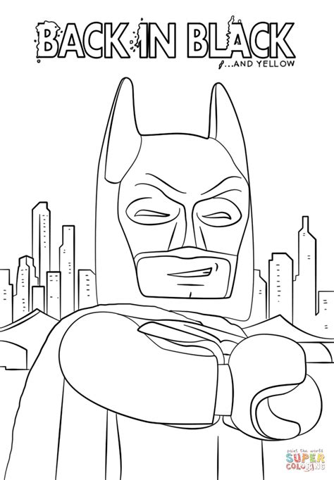 batman coloring batman from the lego batman coloring page free