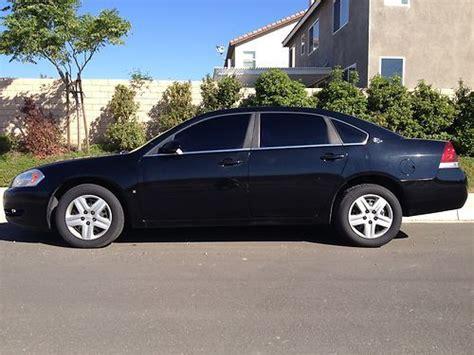 2008 impala black find used 2008 chevrolet impala ls black flex fuel in san