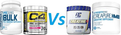 creatine or pre workout creatine vs pre workout supplements bodybuilding