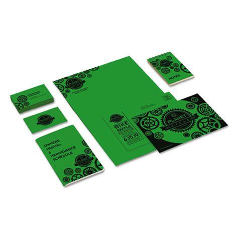 printable card stock paper color cardstock 65lb 8 1 2 x 11 gamma green 250 sheets